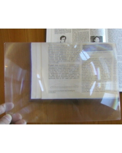 Fresnel Lens Page Magnifier