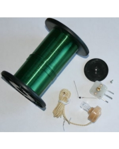 Portable Crystal Radio Kit